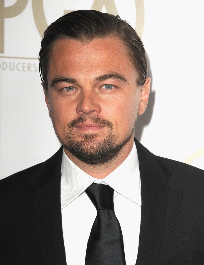 Leonardo DiCaprio showed off his beautiful eyes.