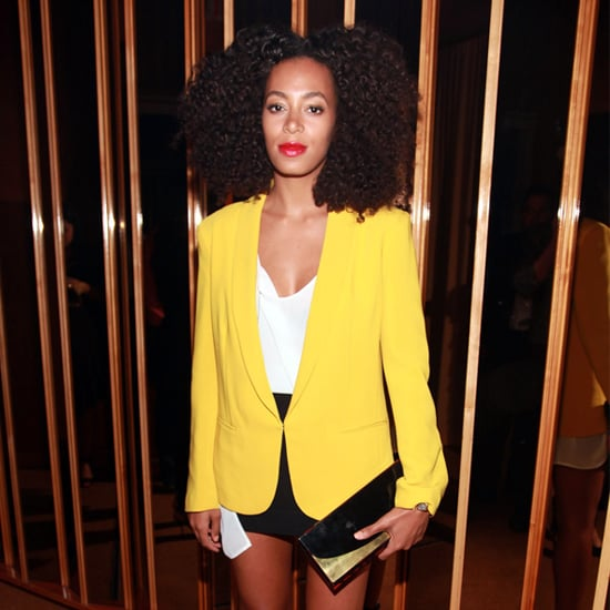 Celebrities in Yellow Blazers