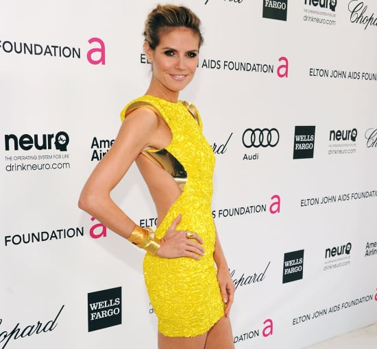 Heidi Klum Red Carpet Fashion and Style Pictures