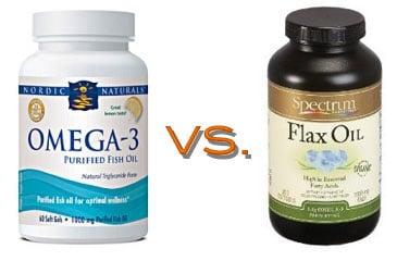Flaxseed Oil Capsules vs. Fish Oil Capsules