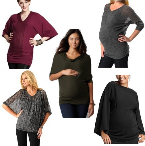 Dolman Sleeve Maternity Tops