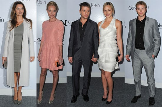 Photos of Ryan Phillippe, Kate Bosworth, Nicky Hilton, Penelope Cruz, Chris Klein, and Ginnifer Goodwin at a Calvin Klein Party 2010-01-29 09:15:00