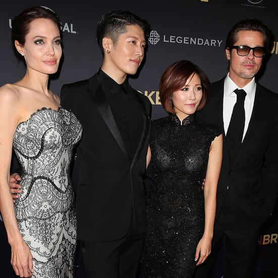 Angelina Jolie and Brad Pitt at the Unbroken World Premiere