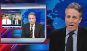 Jon Stewart Responds to CNBC Host on His Variety Show