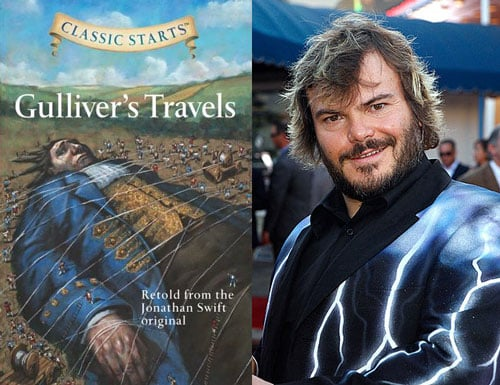 Jack Black Set For Lead Role in Gulliver's Travels