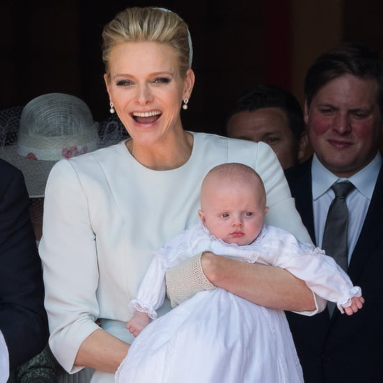 Pictures of the Royal Twins of Monaco Getting Baptised