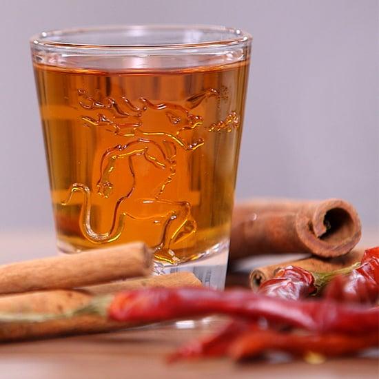 Homemade Fireball Whiskey