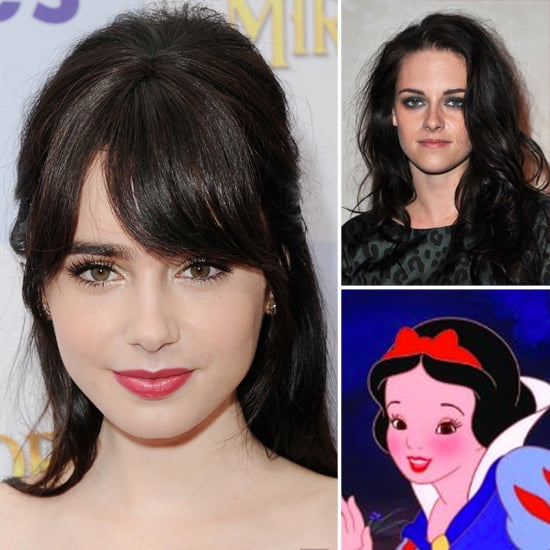 Get The Lowdown on Kristen Stewart and Lily Collins' Snow White Hair Makeovers
