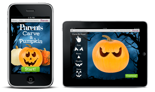 Carve-a-Pumpkin From Parents magazine (Free)