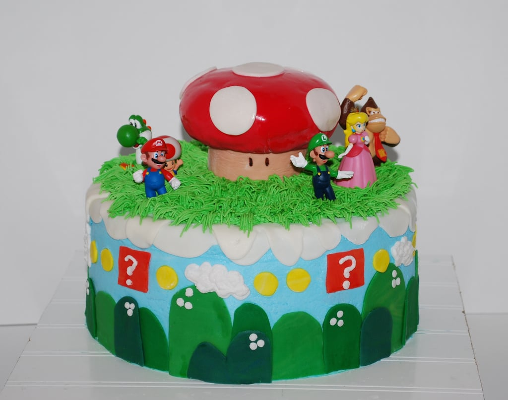 The figurines are plastic, but the cake looks 100 percent delicious.  Source: Flickr User NutMeg Confections