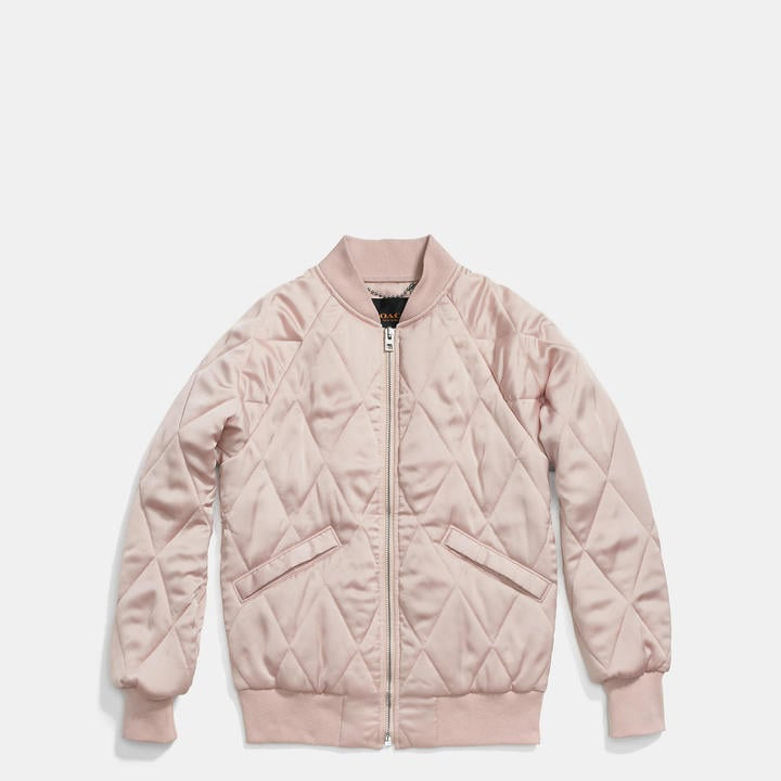 Coach Quilted Blouson Jacket ($495)