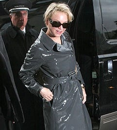 Get a Patent Trench Coat Like Renee's!