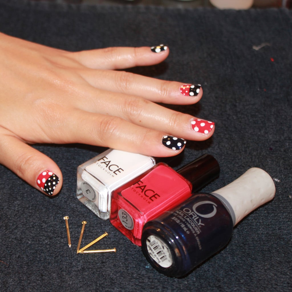 Lady Gaga's Manicurist Shows You How to Do Nautical Nail Art, Step by Step