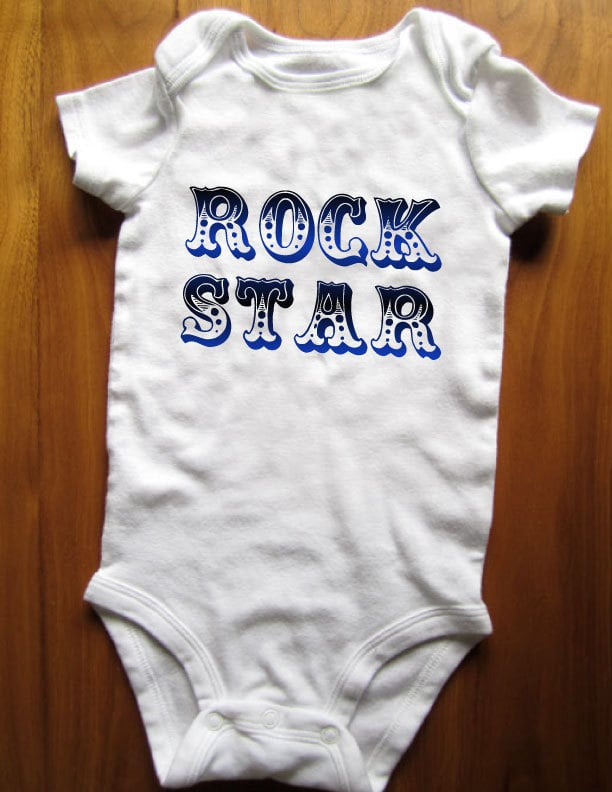 Let everyone know who's boss in an ultra-hip rock star onesie ($12).
