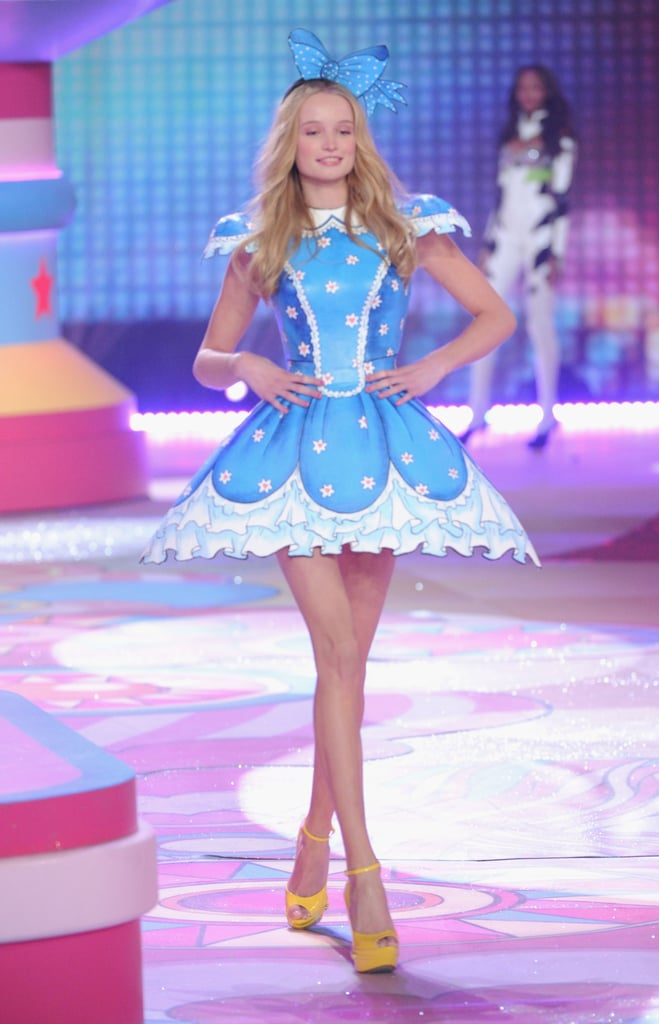 Maud Welzen was on stage at the Victoria's Secret Fashion Show in NYC.