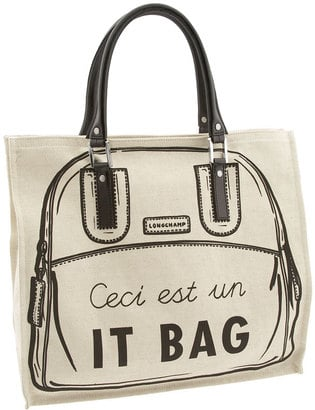 """The Bag To Have: Longchamp """"It Bag"""" Vertical Tote"""