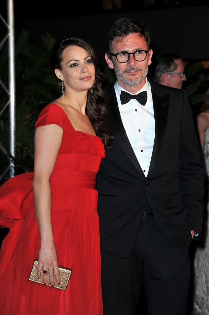 Bérénice Bejo stood out in a bright red gown at the opening ceremonies of the Cannes Film Festival.