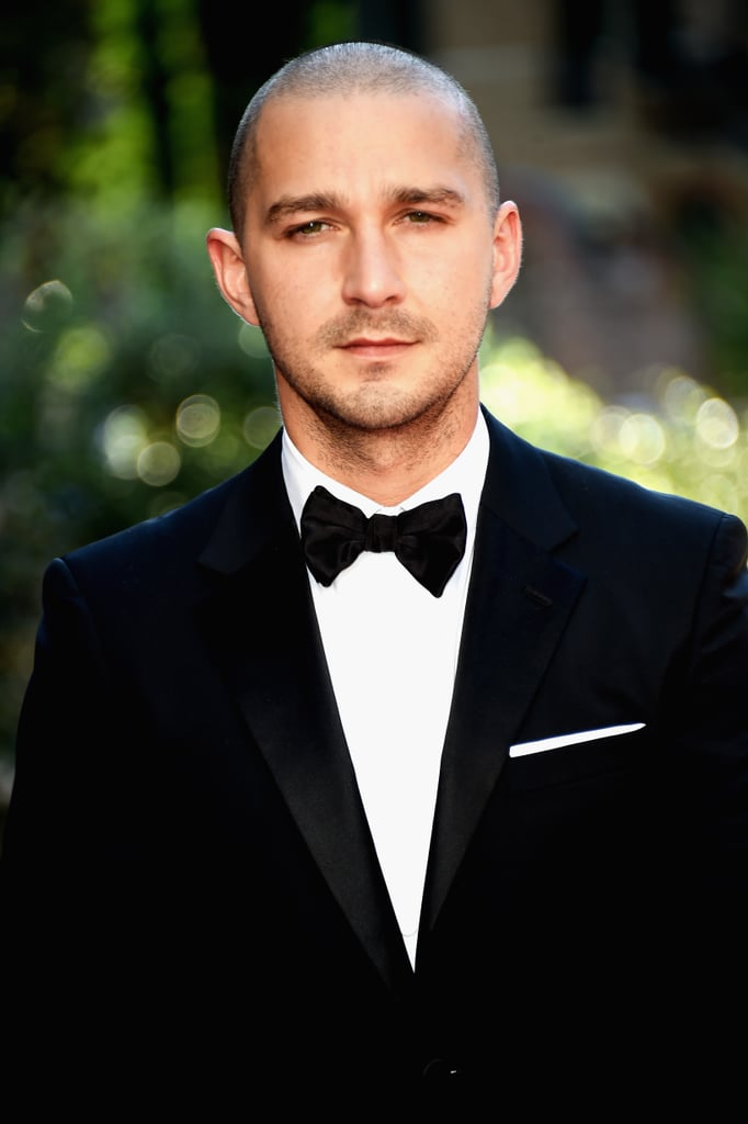 He sported a clean-shaven 'do for the Venice Film Festival premiere of Man Down in September 2015.