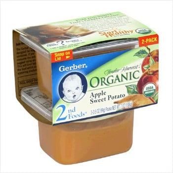 Gerber Baby Food containers