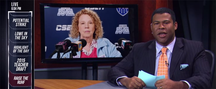 This Is What It'd Look Like If Teachers Were Treated Like Pro Athletes