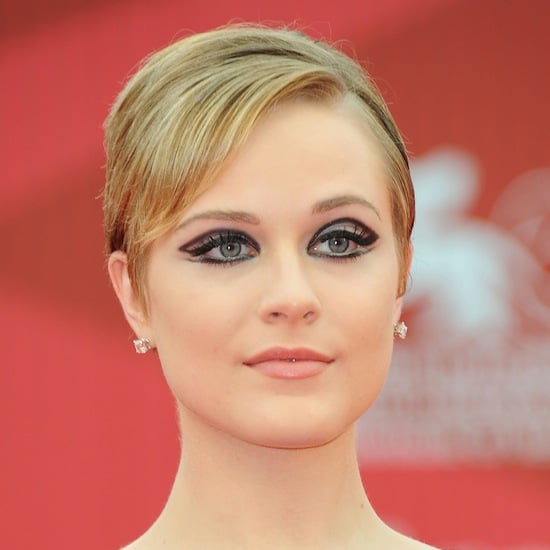 Evan Rachel Wood's '60s Eye Makeup