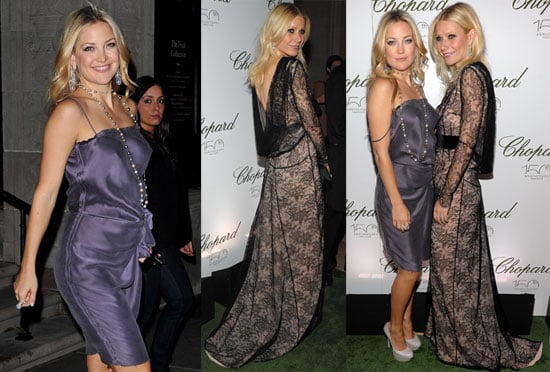 Pictures of Gwyneth Paltrow And Kate Hudson Partying After Kate's Rumoured Boob Job