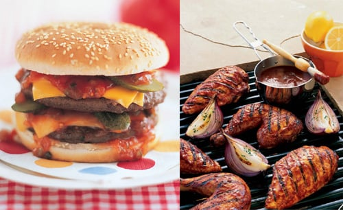Would You Rather Eat A Burger Or BBQ Chicken For The 4th of July?