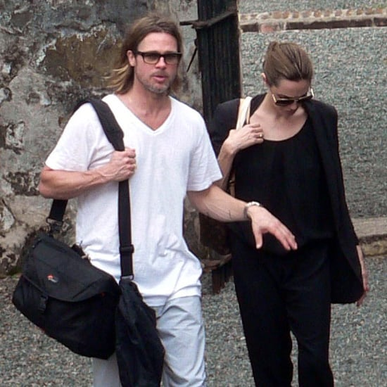 Brad Pitt and Angelina Jolie in Vietnam Pictures