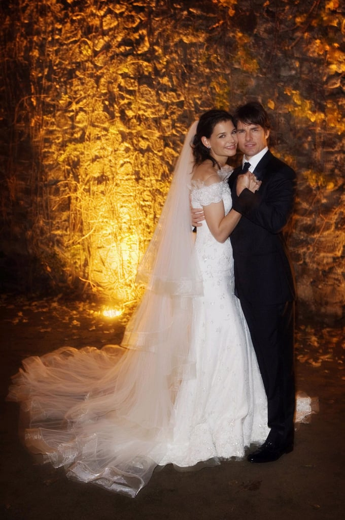 Tom Cruise and Katie Holmes married on Nov. 18, 2006.