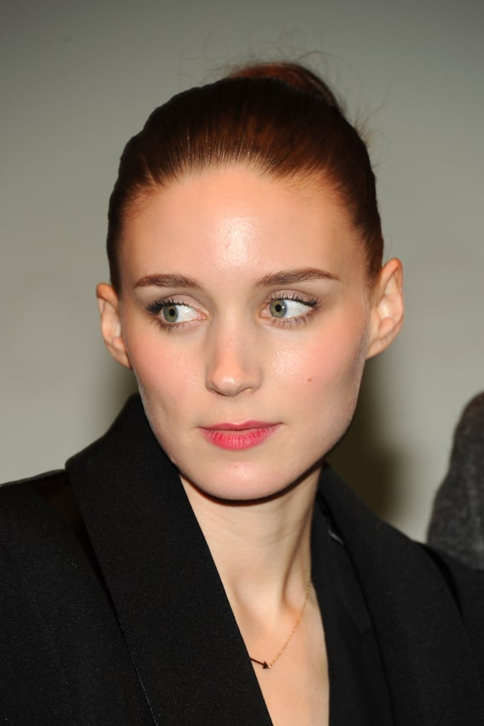 Rooney Mara wore black for the New York screening of Side Effects.
