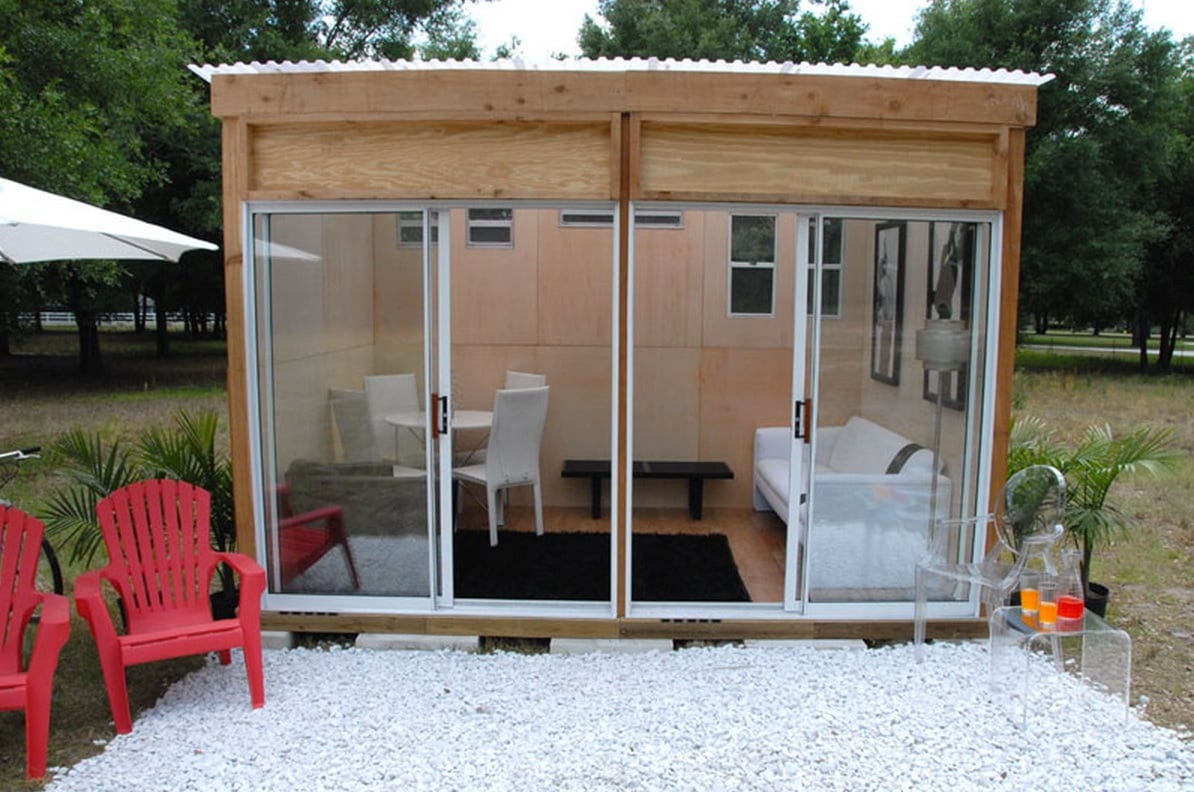One of MetroShed's selling points is its small size — most cities allow the building of 120-square-foot or smaller outbuildings without permits. You can get a quote for your own MetroShed here.
