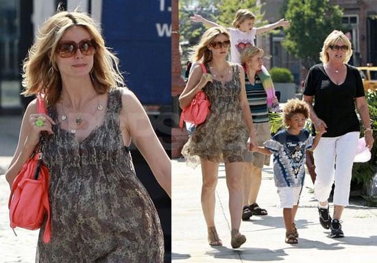 Photos of Heidi Klum and Her Kids