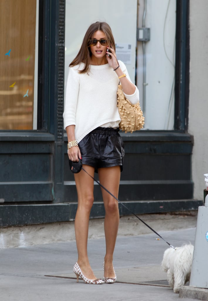Most Wanted: Olivia Palermo's Polished Street Style: Snoop Her NYC 'Fit From Every Angle