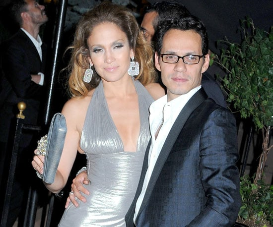 Photo Slide of Marc Anthony and Jennifer Lopez Out in NYC to Celebrate Her 40th Birthday