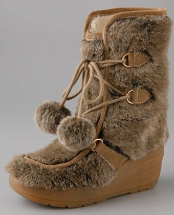 Juicy Couture Snuggle Faux Fur Wedge Ankle Boot: Love It or Hate It?