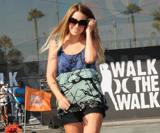 Slide Picture of Lauren Conrad at Hurley Event in Huntington Beach