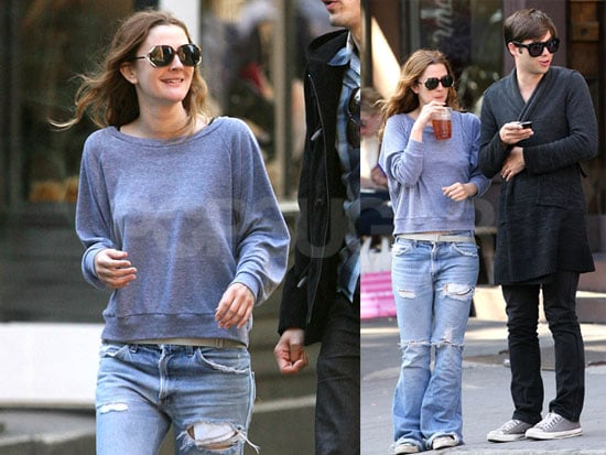 Drew Barrymore Is Comfortable in NYC