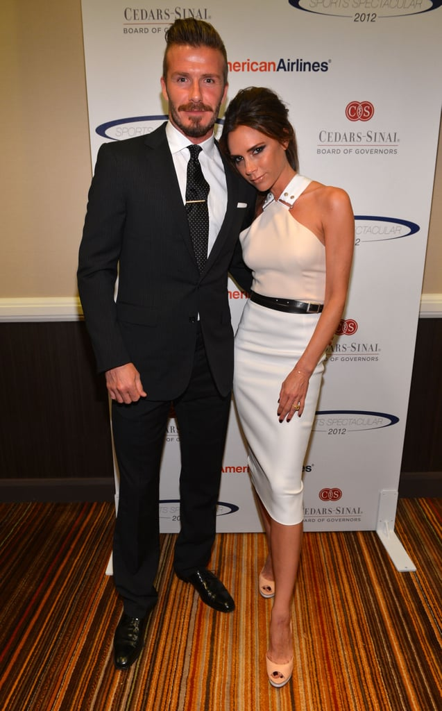 David and Victoria attended the 27th Anniversary Sports Spectacular benefiting Cedars-Sinai Medical Genetics Institute in California in May 2012.