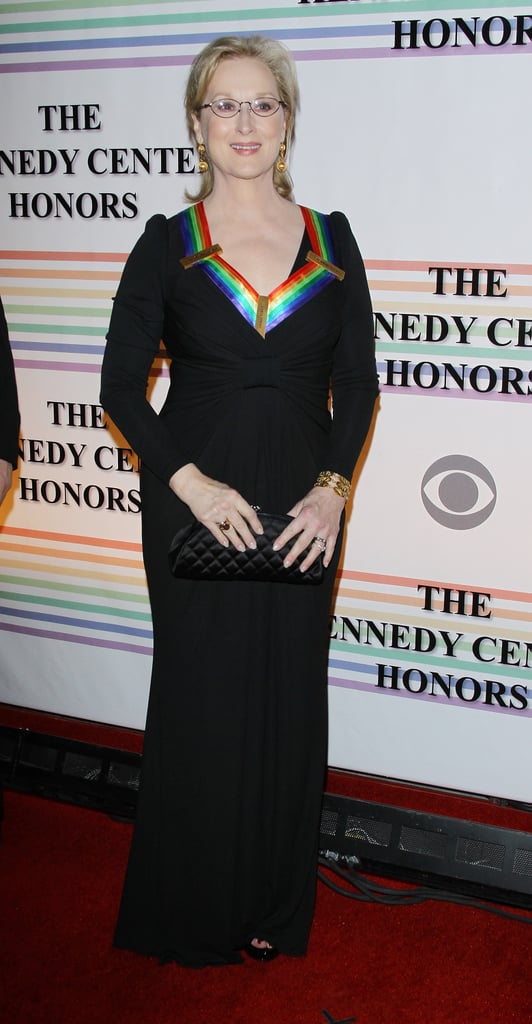 Meryl Streep was an honored guest at the Kennedy Center Hall of Stages in DC.