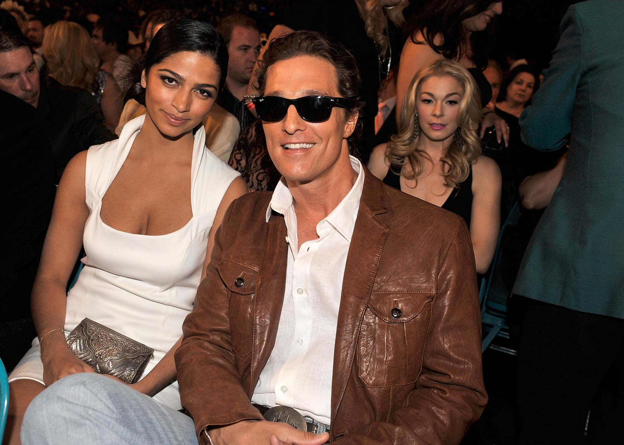 Camila and Matthew sat in the audience at the April 2009 Academy of Country Music Awards in Las Vegas.