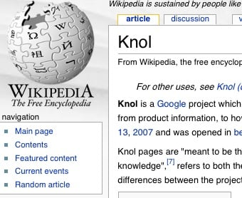 Google Launches Knol, a Wikipedia Competitor