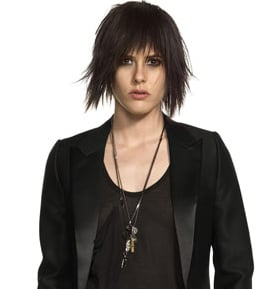 Shane McCutcheon Makeup on Katherine Moennig