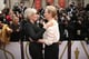 Glenn Close with Meryl Streep at the 2014 Oscars.