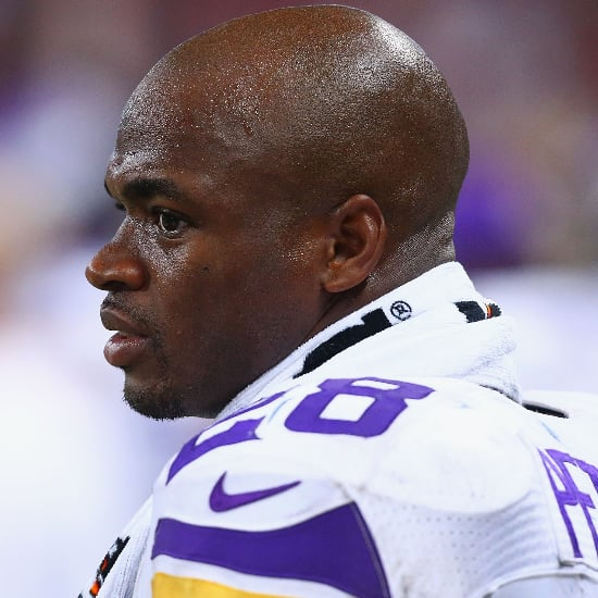 Adrian Peterson Charged With Child Abuse