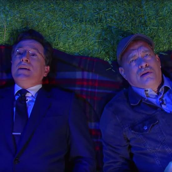 Tom Hanks on Stephen Colbert September 2015