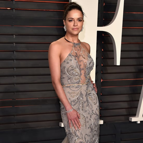 Michelle Rodriguez at the Oscars Vanity Fair Party 2016