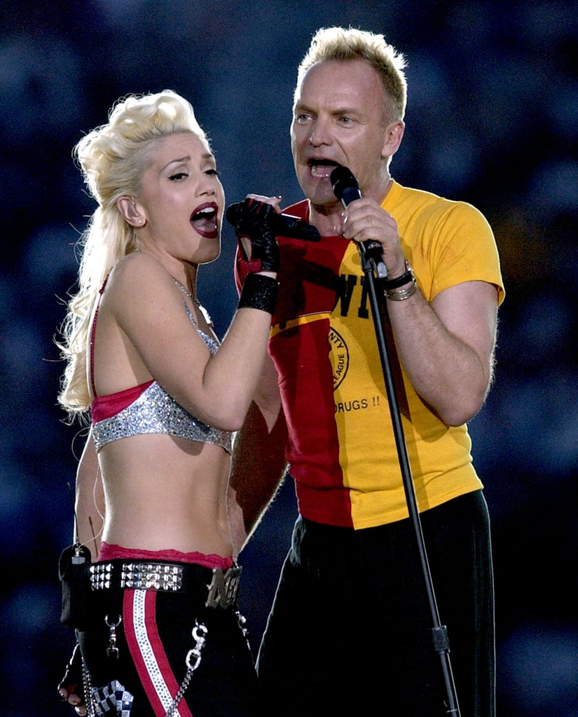 "Gwen Stefani joined Sting to sing ""Message in a Bottle"" in 2003."