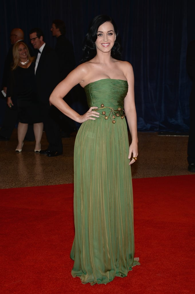 Katy Perry attended the White House Correspondents Dinner.