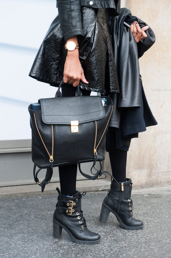 The old-school backpack gets a sleek upgrade, 3.1 Phillip Lim style.