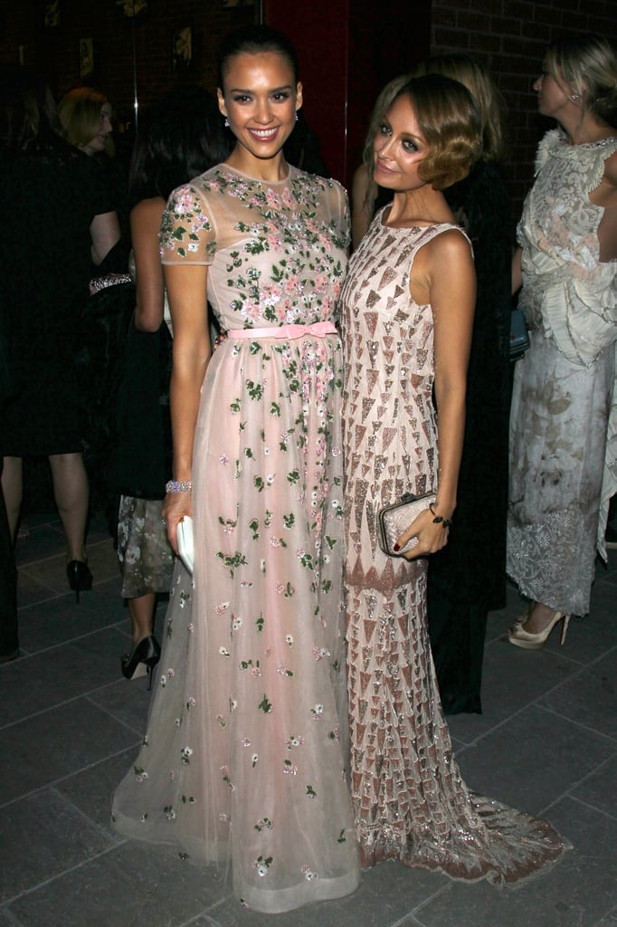 Jessica Alba and Nicole Richie